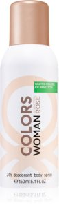Benetton Colors de Benetton Woman Rose Deodorant for Women