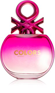 Benetton Colors de Benetton Woman Pink Eau de Toilette für Damen