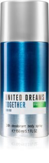 Benetton United Dreams for him Together deodorant ve spreji pro muže