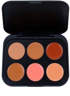 BH Cosmetics 6 Color paleta de corretores