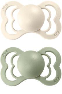 BIBS Supreme Natural Rubber 2 dudlík Ivory / Sage