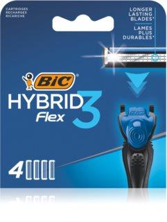BIC FLEX3 Hybrid náhradné žiletky 4 ks