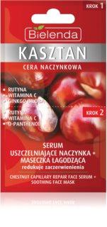 Bielenda Chestnut Gesichtsmaske für geweitete und geplatzte Venen