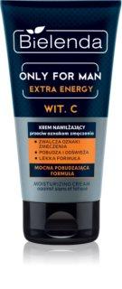 Bielenda Only for Men Extra Energy gel za čišćenje lica za umornu kožu lica