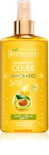 Bielenda Precious Oil  Avocado подхранващо олио за лице, тяло и коса