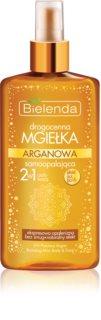 Bielenda Precious Oil Argan brume auto-bronzante visage et corps