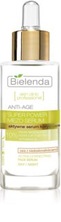 Bielenda Skin Clinic Professional Super Power Mezo Serum verjüngendes Anti-Aging Serum für Haut mit kleinen Makeln