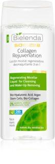 Bielenda BioTech 7D Collagen Rejuvenation 40+ oczyszczający płyn micelarny o działaniu regenerującym