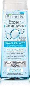 Bielenda Expert Pure Skin Moisturizing μικυλλιακό καθαριστικό νερό 3 σε 1