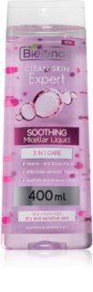 Bielenda Expert Pure Skin Soothing Міцелярна очищуюча вода 3в1