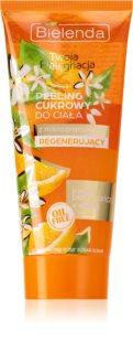 Bielenda Your Care Orange Blossom & Honey Zucker-Peeling mit regenerierender Wirkung