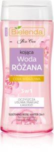 Bielenda Rose Care acqua di rose detergente lenitiva 3 in 1