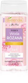 Bielenda Rose Care kojąco - oczyszczająca różana woda 3 w 1