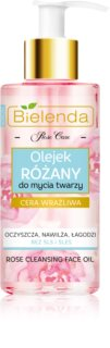Bielenda Rose Care Rose Cleansing Oil for Sensitive Skin