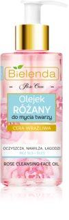 Bielenda Rose Care rosa Reinigungsöl für empfindliche Haut