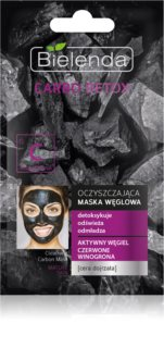 Bielenda Carbo Detox Active Carbon Cleansing Mask with Activated Charcoal for Mature Skin