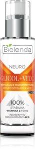 Bielenda Neuro Glicol + Vit. C noćni serum za pomlađivanje s piling učinkom