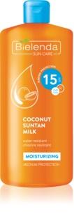 Bielenda Sun Care latte abbronzante idratante SPF 15