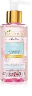 Bielenda Rose Care Rose Cleansing Oil for Sensitive Skin