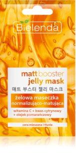 Bielenda Jelly Mask Matt Booster ομαλοποιητική - ματ μάσκα για μικτή και λιπαρή επιδερμίδα