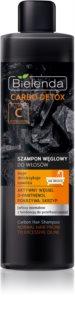 Bielenda Carbo Detox Active Carbon champô com ingredientes ativos de carvão para cabelo normal a oleoso
