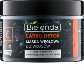 Bielenda Carbo Detox Active Carbon masque cheveux au charbon actif