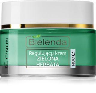 Bielenda Green Tea ομαλοποιητική κρέμα νύχτας για μικτή επιδερμίδα