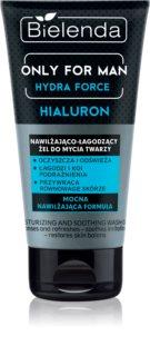 Bielenda Only for Men Hydra Force umirujući gel za čišćenje za muškarce