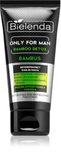 Bielenda Only for Men Bamboo Detox creme desintoxicante para homens