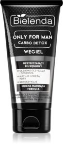 Bielenda Only for Men Carbo Detox gel de limpeza matificante para homens