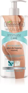 Bielenda Micellar Intimate Care D-Panthenol gel de limpeza micelar para higiene íntima