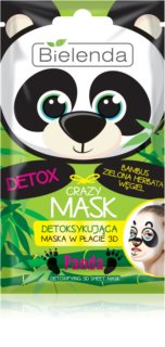 Bielenda Crazy Mask Panda mască detoxifiantă 3D