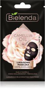 Bielenda Camellia Oil verjüngende Gesichtsmaske 3D