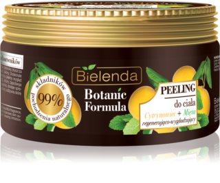 Bielenda Botanic Formula Lemon Tree Extract + Mint zaglađujući piling za tijelo