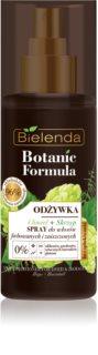 Bielenda Botanic Formula Hops + Horsetail condicionador sem enxaguar em spray para cabelo pintado e danificado