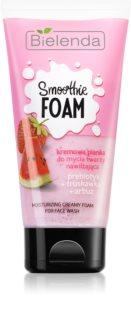 Bielenda Smoothie Prebiotic + Strawberry + Water Melon hidratantna pjena za čišćenje
