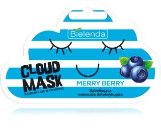 Bielenda Cloud Mask Merry Berry detoxikační pleťová maska