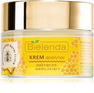 Bielenda Manuka Honey nährende Crem mit feuchtigkeitsspendender Wirkung