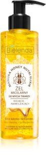 Bielenda Manuka Honey gel micellaire nettoyant pour apaiser la peau