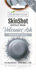 Bielenda Skin Shot Volcanic Ash maschera normalizzante  per il viso
