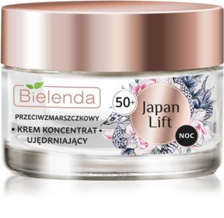Bielenda Japan Lift συσφικτική κρέμα νύχτας με αναγεννητική επίδραση 50+