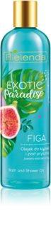 Bielenda Exotic Paradise Fig huile bain et douche
