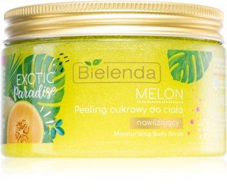 Bielenda Exotic Paradise Melon peeling cukrowy nawilżający