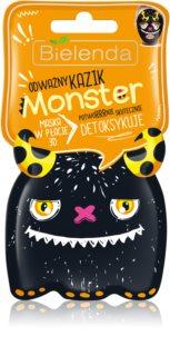Bielenda Monster mască compresă hidratantă 3D