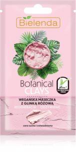 Bielenda Botanical Clays nährende, regenerierende Maske für trockene Haut