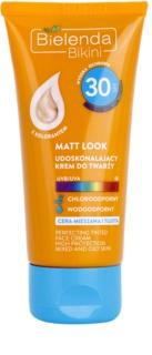 Bielenda Bikini Matt Look προστατευτική κρέμα προσώπου SPF 30