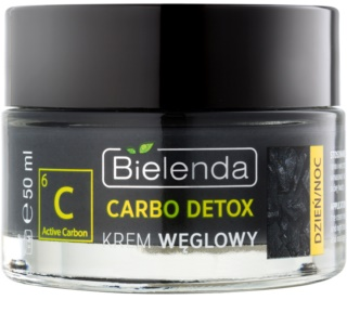 Bielenda Carbo Detox Active Carbon ενυδατική ματ κρέμα με ενεργό άνθρακα