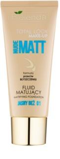Bielenda Total Look Make-up Nude Matt fluidni tekoči puder z mat učinkom
