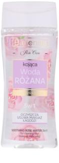 Bielenda Rose Care beruhigendes reinigendes Rosenwasser 3 in1