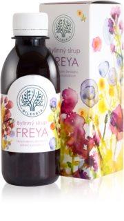 Bilegria Bylinný sirup Freya na podporu ženského zdraví doplněk stravy  pro ženy